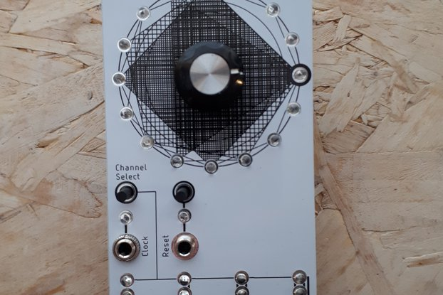 Polygons Kit- Gate Sequencer for Eurorack - 12HP
