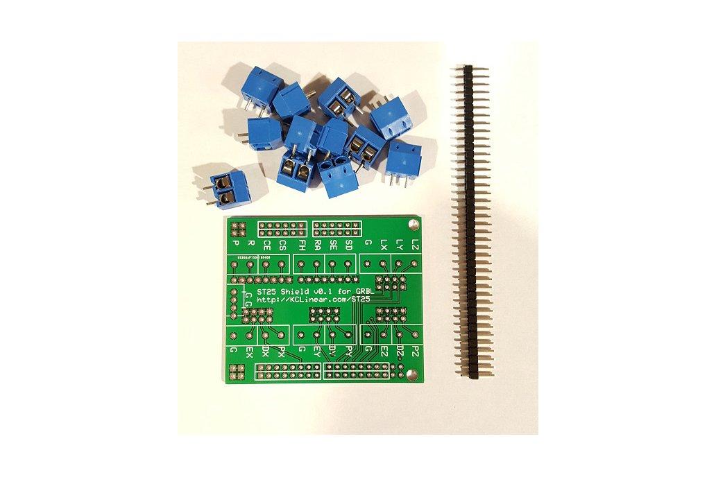 ST25 - Arduino GRBL Screw Terminal Breakout Board 2
