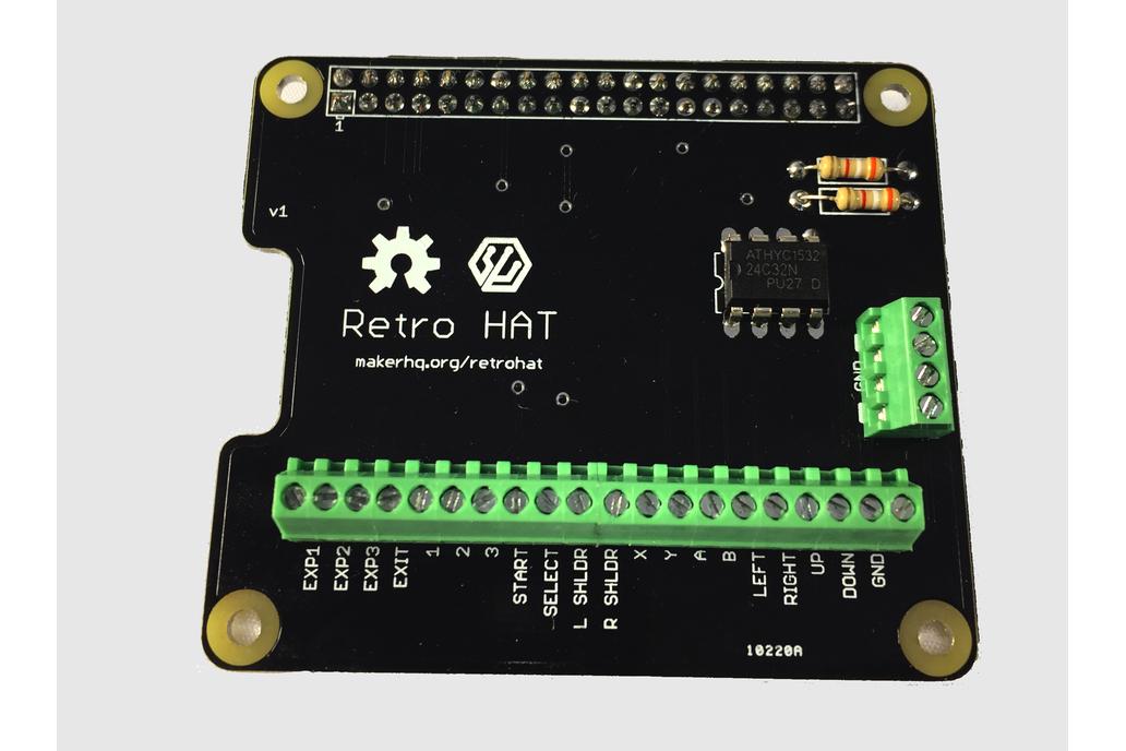 RetroHAT - Raspberry Pi MAME Wiring Made Easy 2