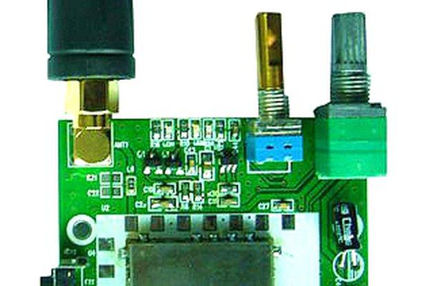 FRS_DEMO_B demo board (for 0.5W UHF module)