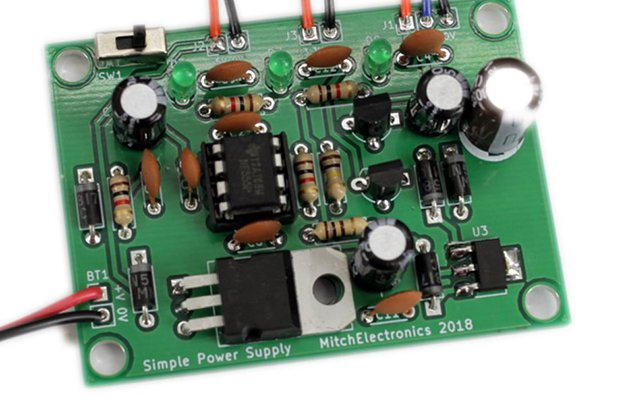 Simple Power Supply Kit
