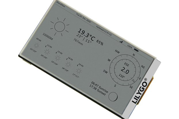 LILYGO T5-4.7 inch E-paper  ESP32 V3 version