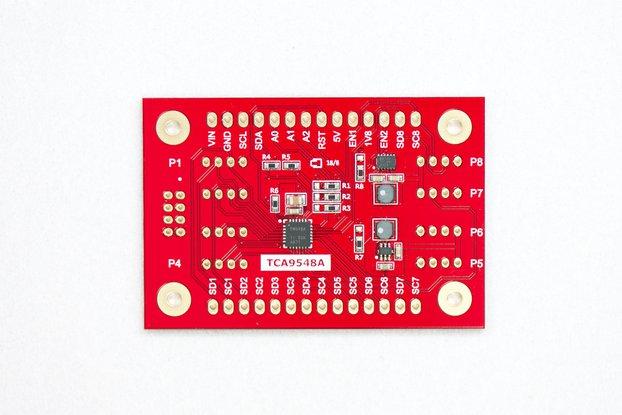 TCA9548A I2C Multiplexer with 1.8V and 5V Output