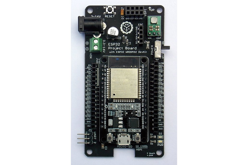 Esp32 Project Board + Quad Motor & Servo Shield 1