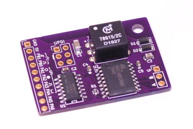 RS-485 Isolated ATtiny814 Board
