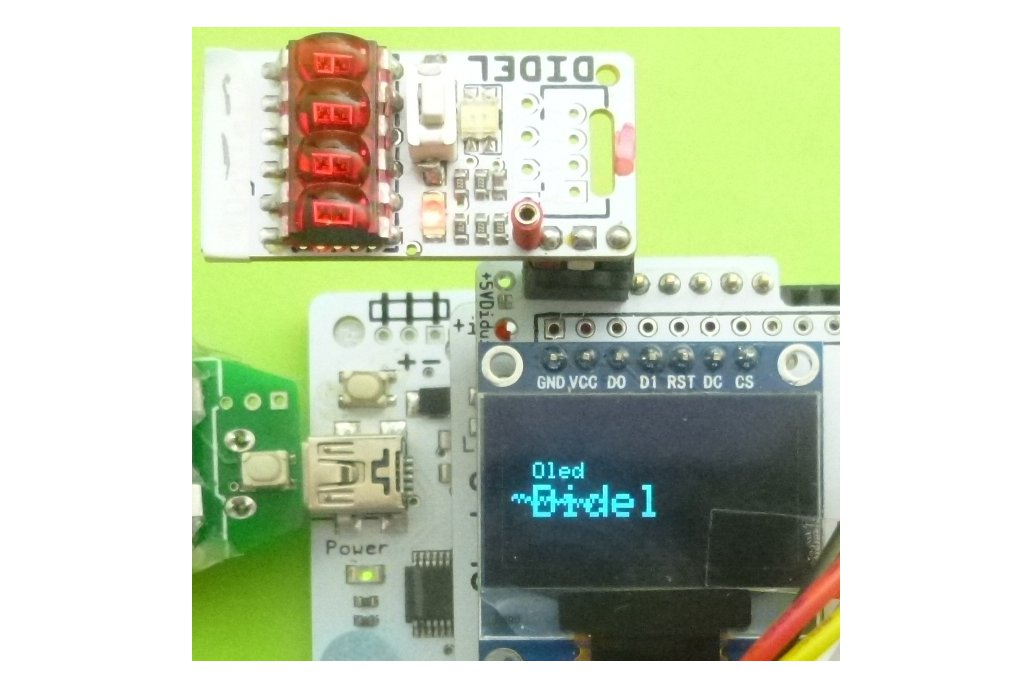 DiTell - A 4-digit display to help your debugging 6