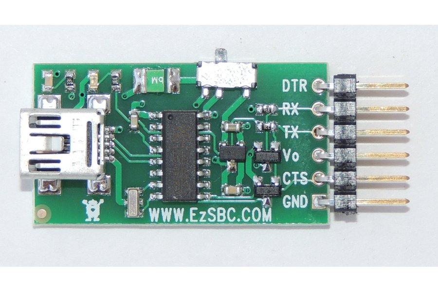 USB to Serial / UART  5V or 3.3V ($6.95)