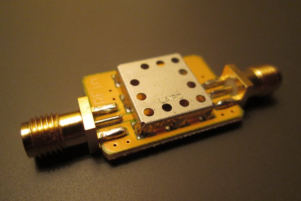 915 MHz ISM Band Pass filter; Amateur Radio RFID