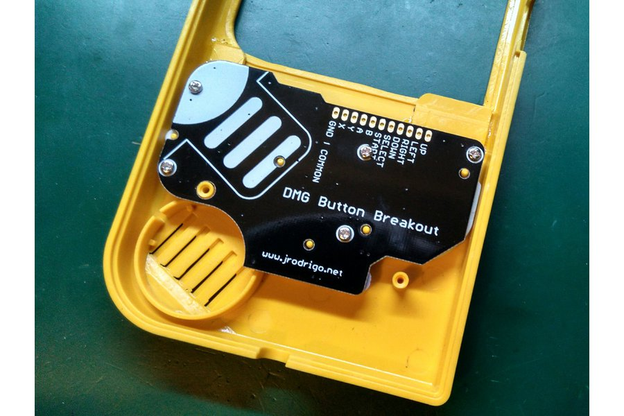 DMG Button Breakout PCB for Game Boy Mods
