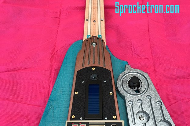 Guitar MIDI Synth Controller
