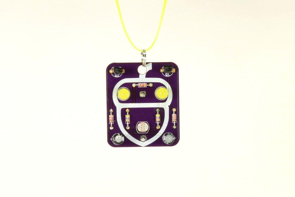 Acorn: Wearable Blinky-Board Soldering Skills Kit 1