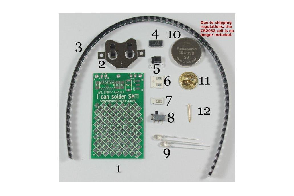 Blinky Grid SMT 2