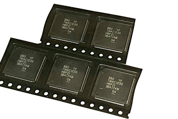 TM4C123 TIVA TM4C123GH6PZI TI MCU (5 pieces)