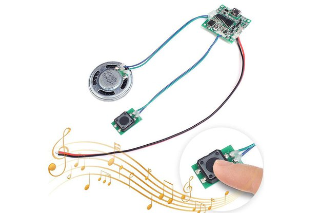 8M Recordable Sound Play Module (10060)