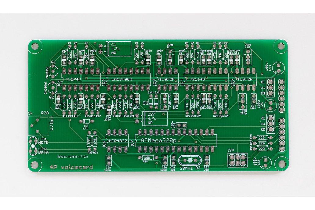 Ambika 4-Pole Voicecard PCB 1