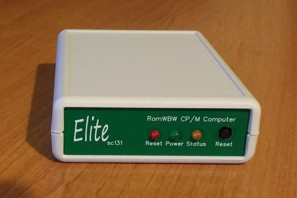 SC131 Pocket-sized Z180 RomWBW CP/M computer kit 1