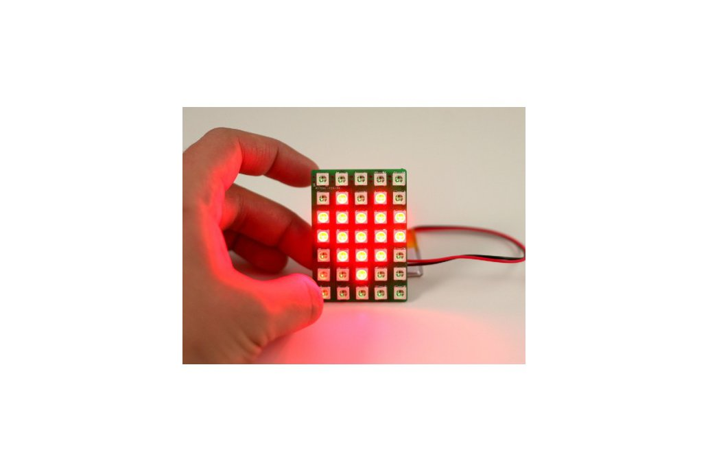Chainable Color LED Matrix 5x7 (WS2812) 1