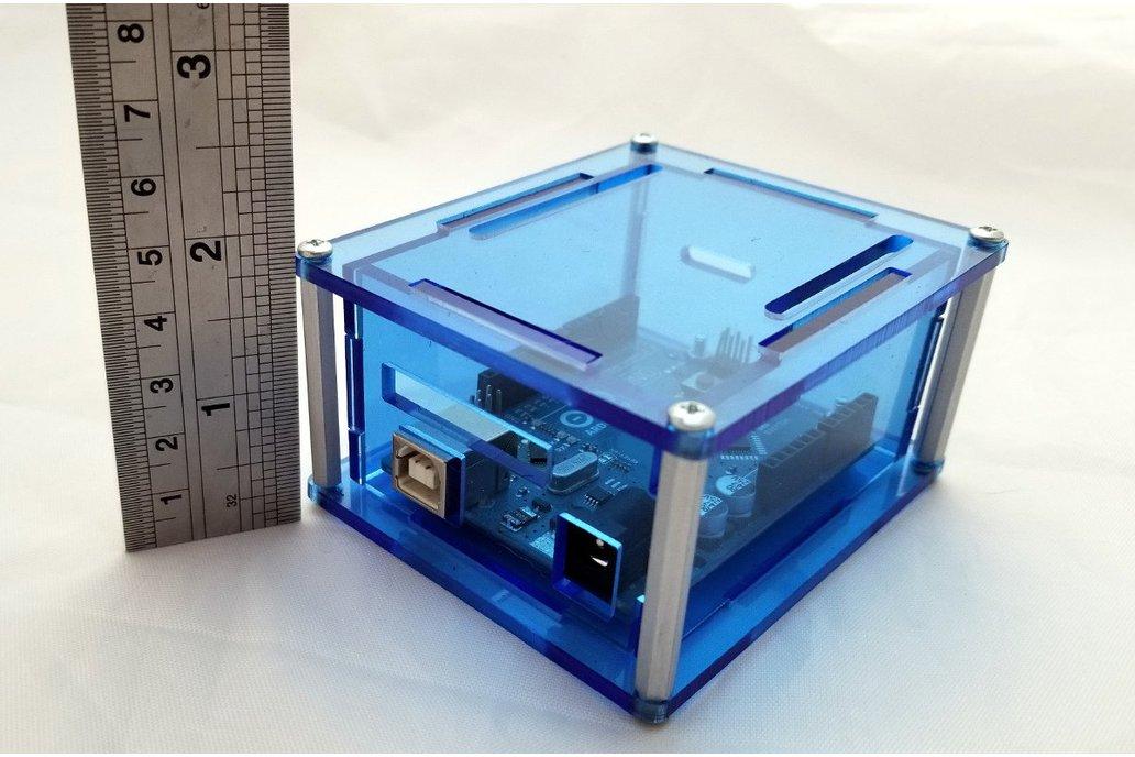 """Arduino Uno project enclosure """"Uno 3H"""" 1"""