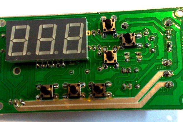Digital Programmable 50hz/60hz 240v/120v Dimmer