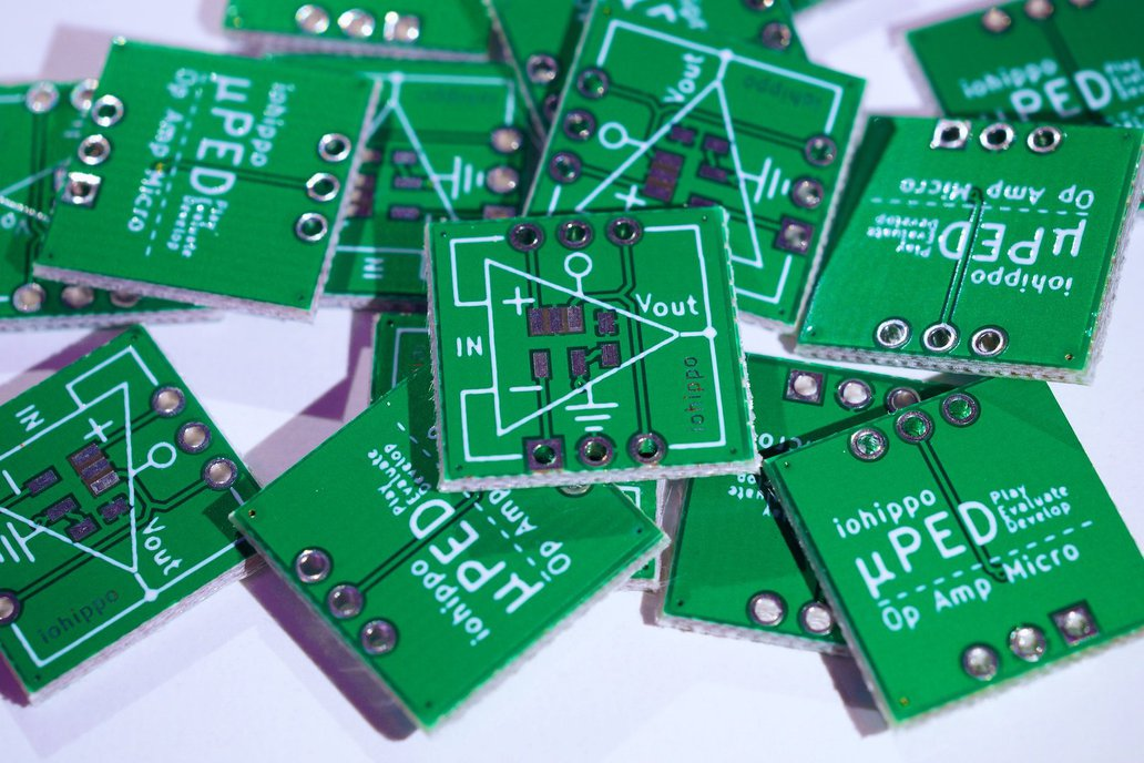 uPED Op Amp Micro - Play, Evaluate, Develop 2