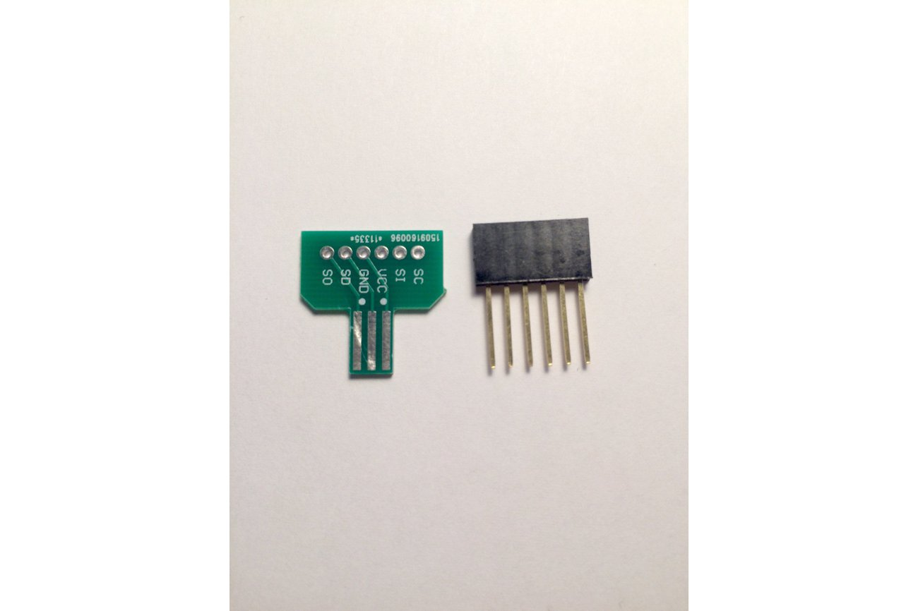 Gameboy Color/Advance/SP Link Cable Breakout Board