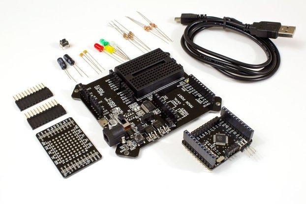 BoardX Arduino Compatible Starter Kit (ATMega328P)