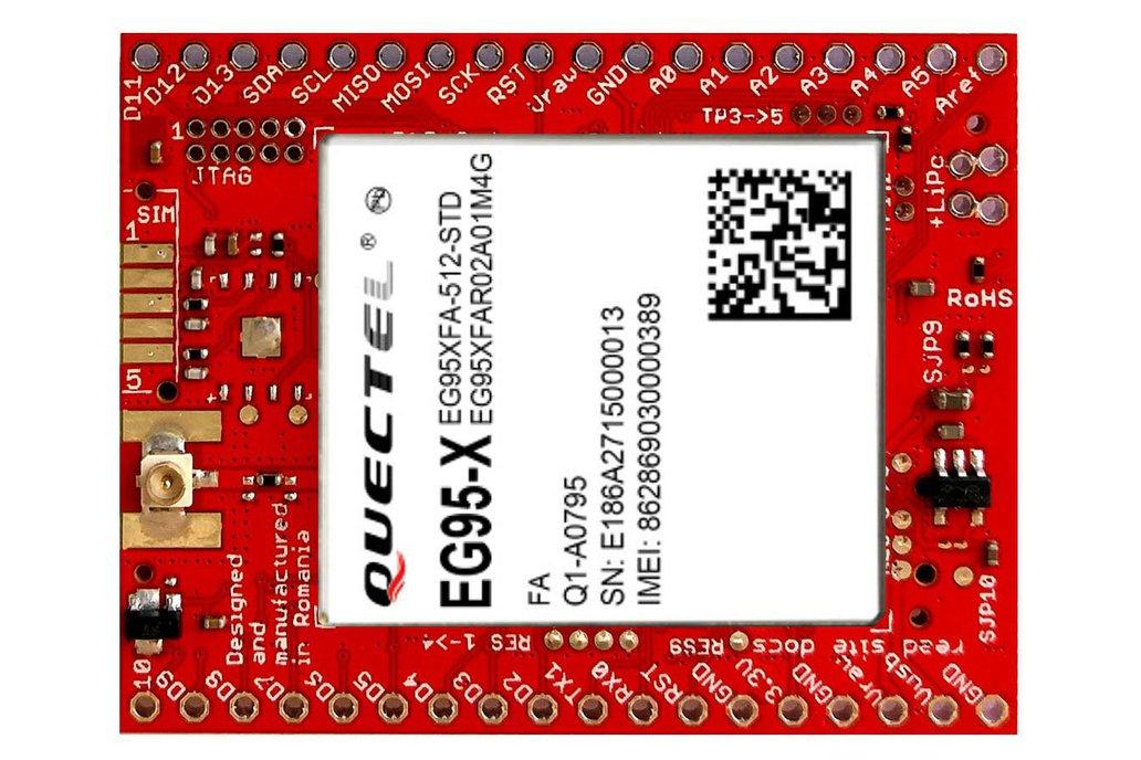 xyz-mIoT w. EG95A (ARM0 shield + 4G 3G modem ) 1