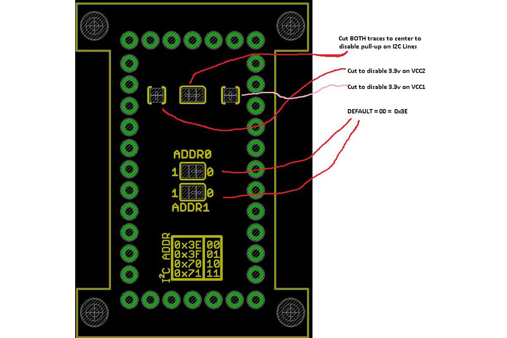SX1509 16 Bit IO Expander 5