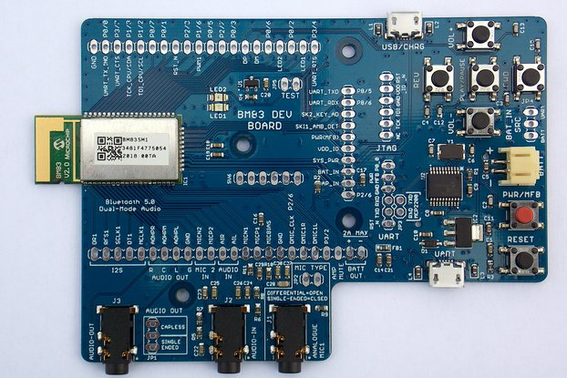 BM83 Bluetooth 5.0 Dual-Mode Development Board