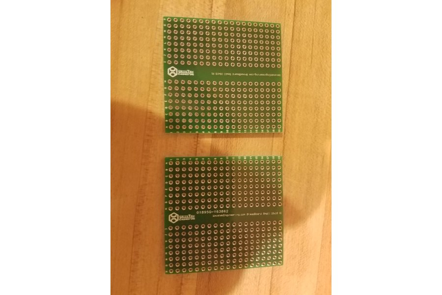 Permanent Proto board | Pack of two. 342 point