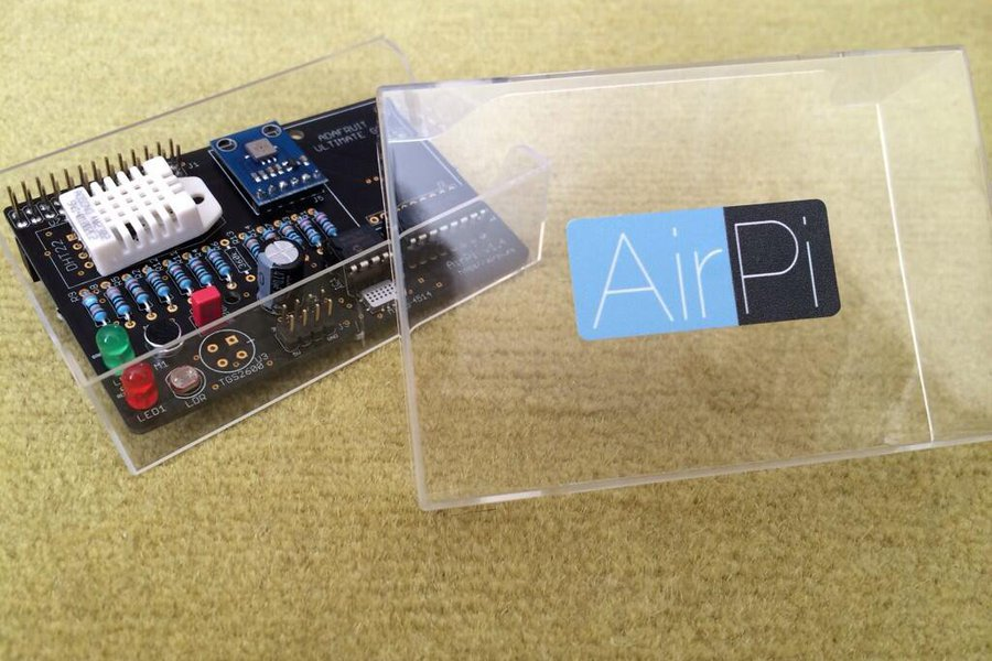 AirPi Kit v1.4 - Raspberry Pi weather shield