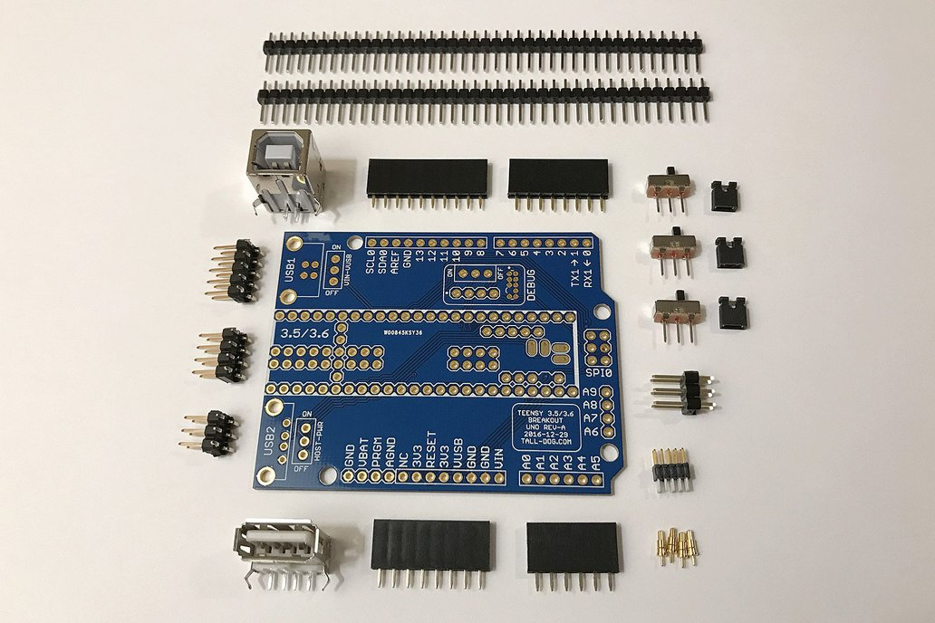 Teensy 3.5/3.6 Breakout (Revision A, Uno) 1