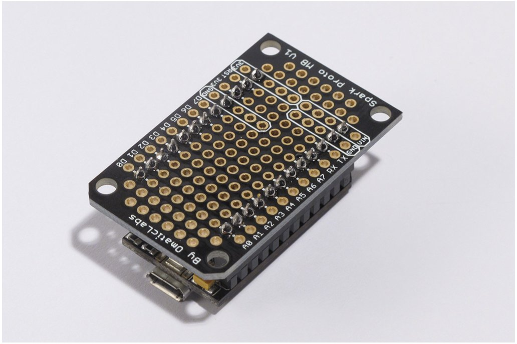 Protoboard for SparkCore 3
