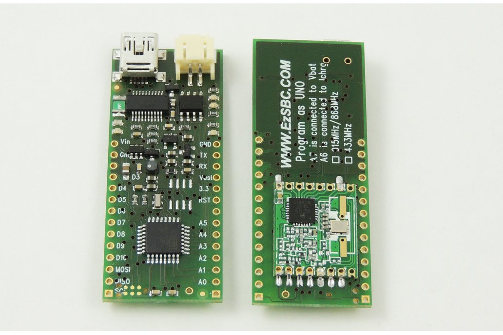ArduRF1s Arduino with  RF-link and Battery Power 1