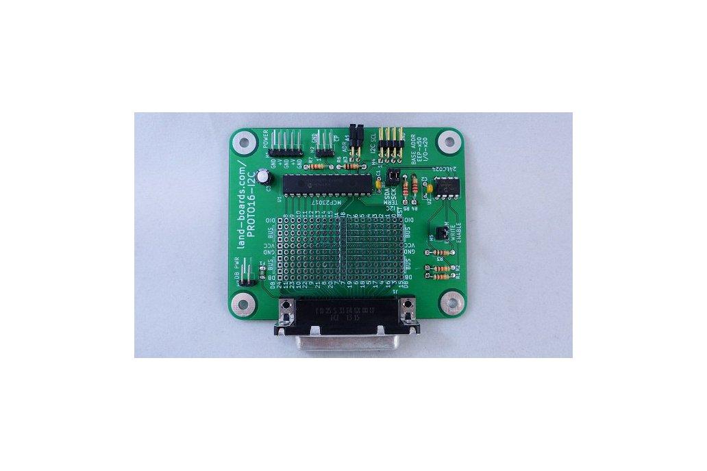16-Bit Digital I/O w Proto Area (PROTO16-I2C) 1