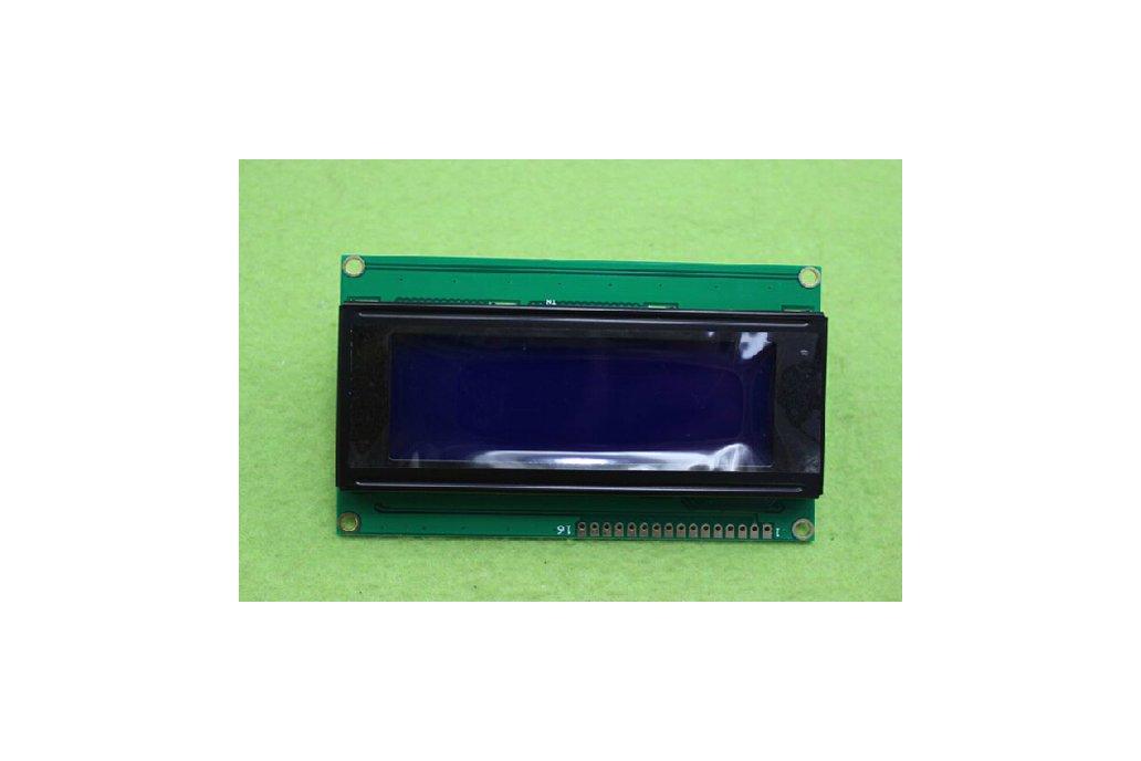 Blue screen LCD module (IIC/I2C 2004) 1