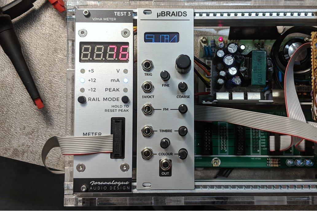 Microbraids (ubraids) Panel + PCB 1