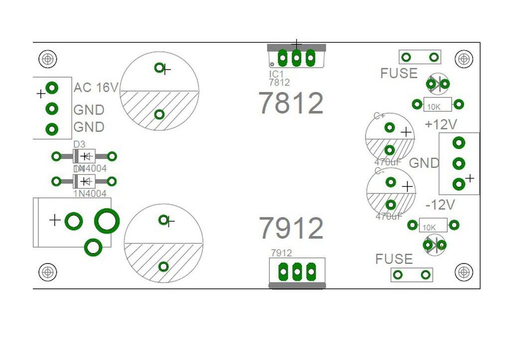 EuroRack Power  + Dual Power Supply + AC adapter 6