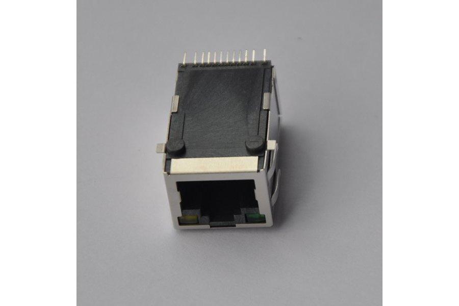 YKJU-2009NL 100Base-T SMT Jack with LED