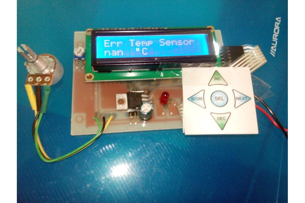 Filament Fuser Joiner Controller Version 3.0 2