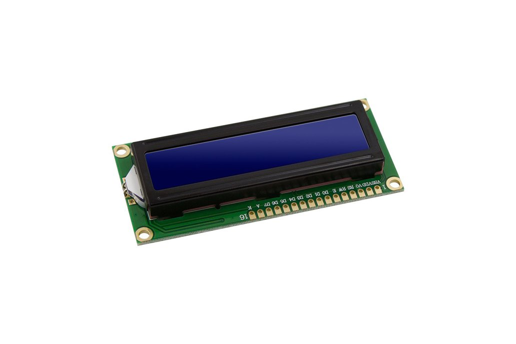 LCD Module Display Monitor 1602 5V Blue Screen 1