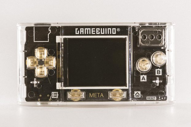 GAMEBUINO META – Portable retro console, diy games