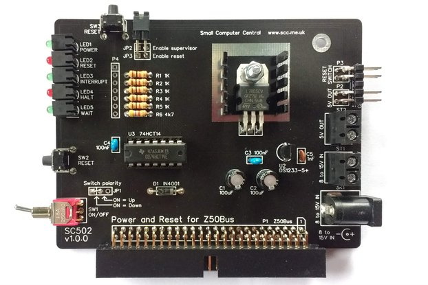 SC502 Power and Reset Card Kit for Z50Bus