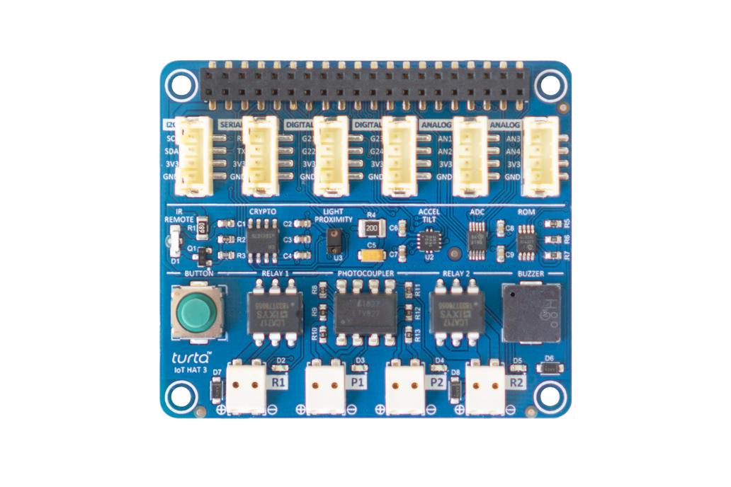 Turta IoT HAT 3 for Raspberry Pi 1