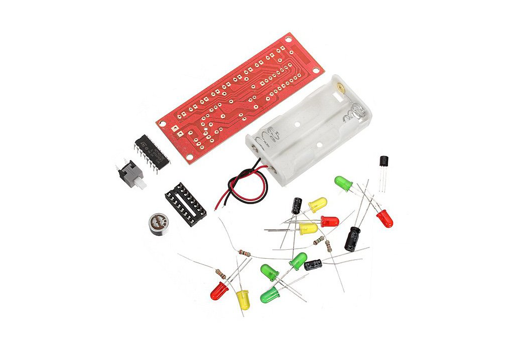 DIY Voice Control Flashing LED Kit 1