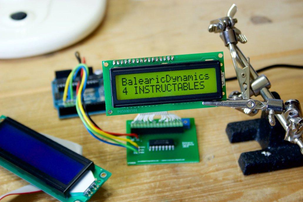 LCD Alpha Arduino Kit 7