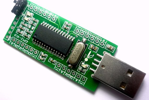 iCP12 (5mV) - usbStick (6 Ch USB Oscilloscope)