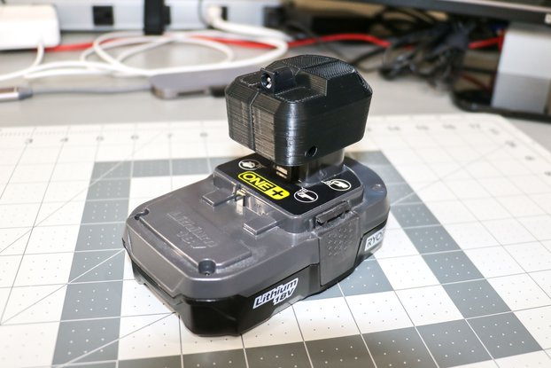 Ryobi Power Supply - Barrel Connector Adapter