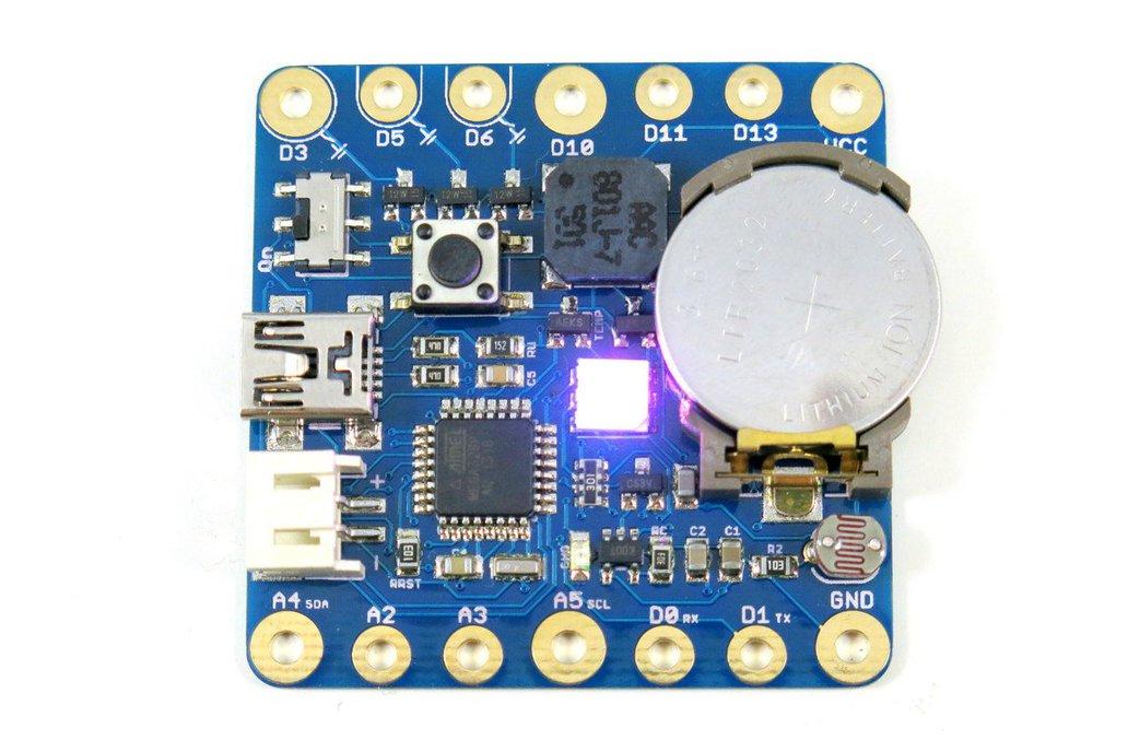 SquareWear 2.4 (Arduino-based, Sewable) 1
