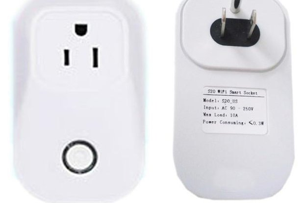 Wifi Outlet Integrated with Web Server